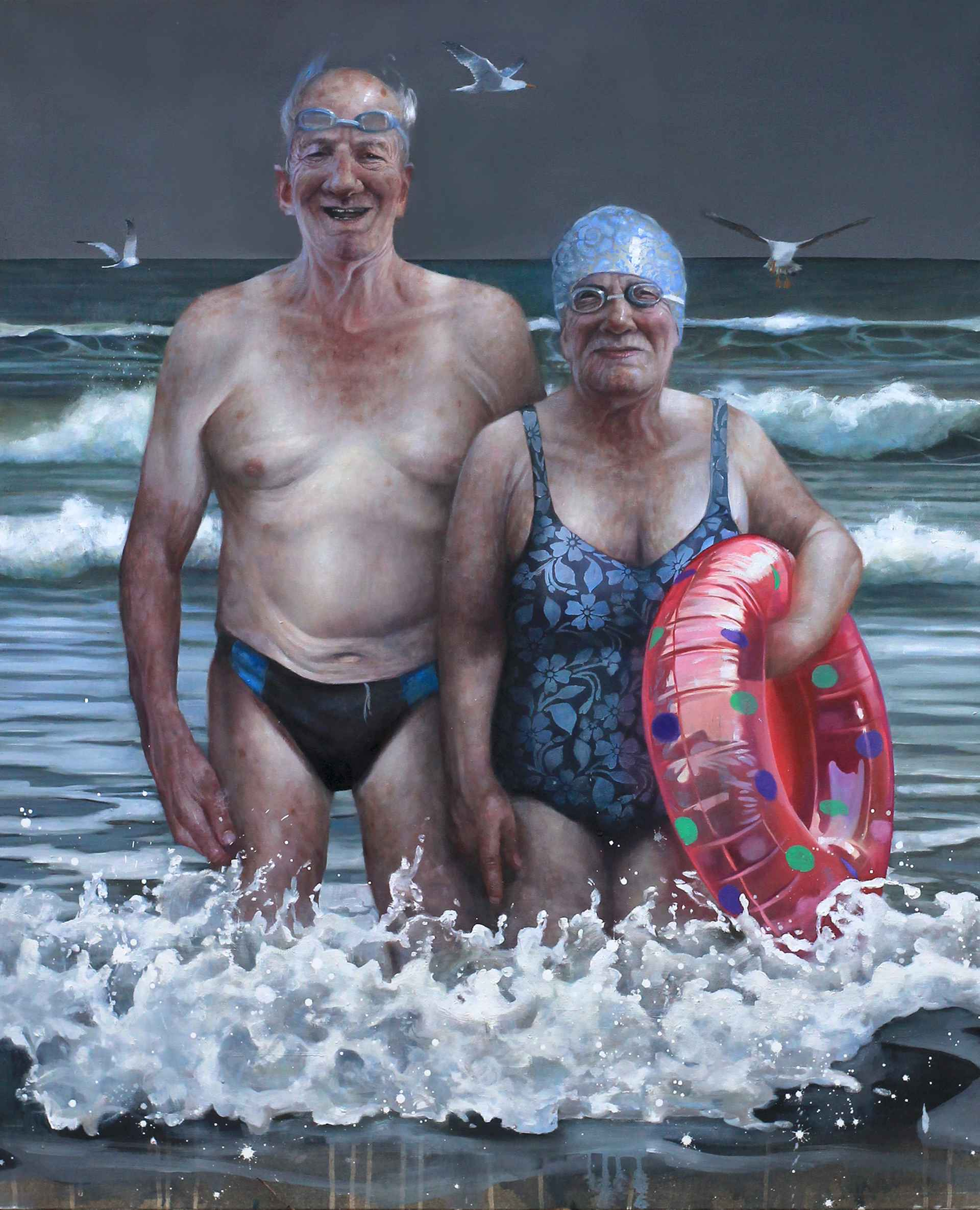 Enduring love, evoking the stoicism within a long married life