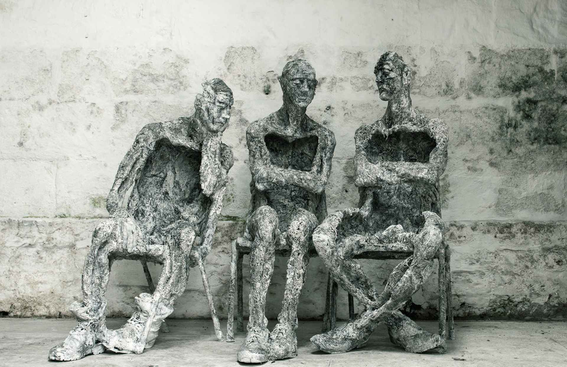 3 Seated by Anna Gillespie