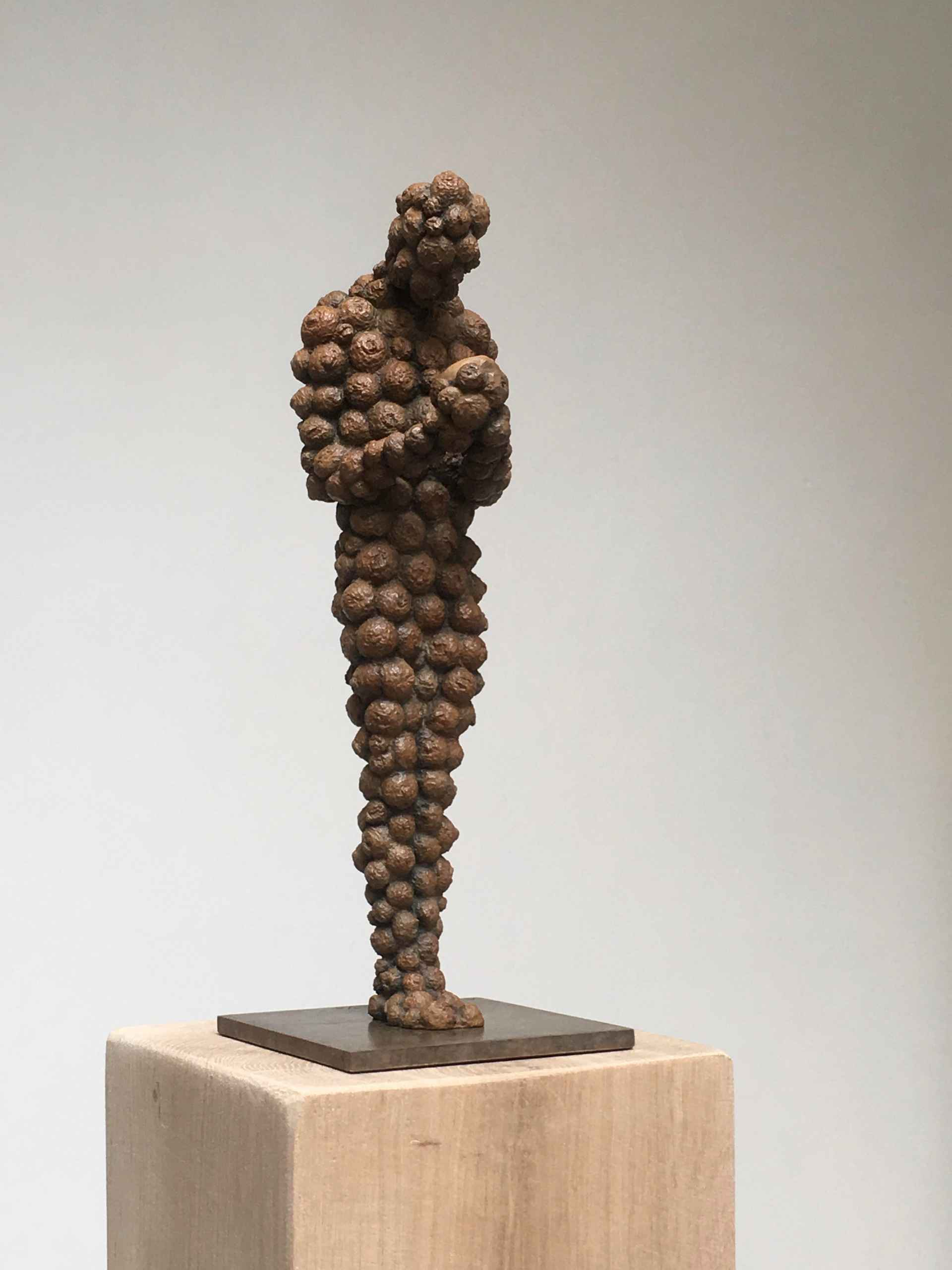 Bronze limited-edition sculpture, called