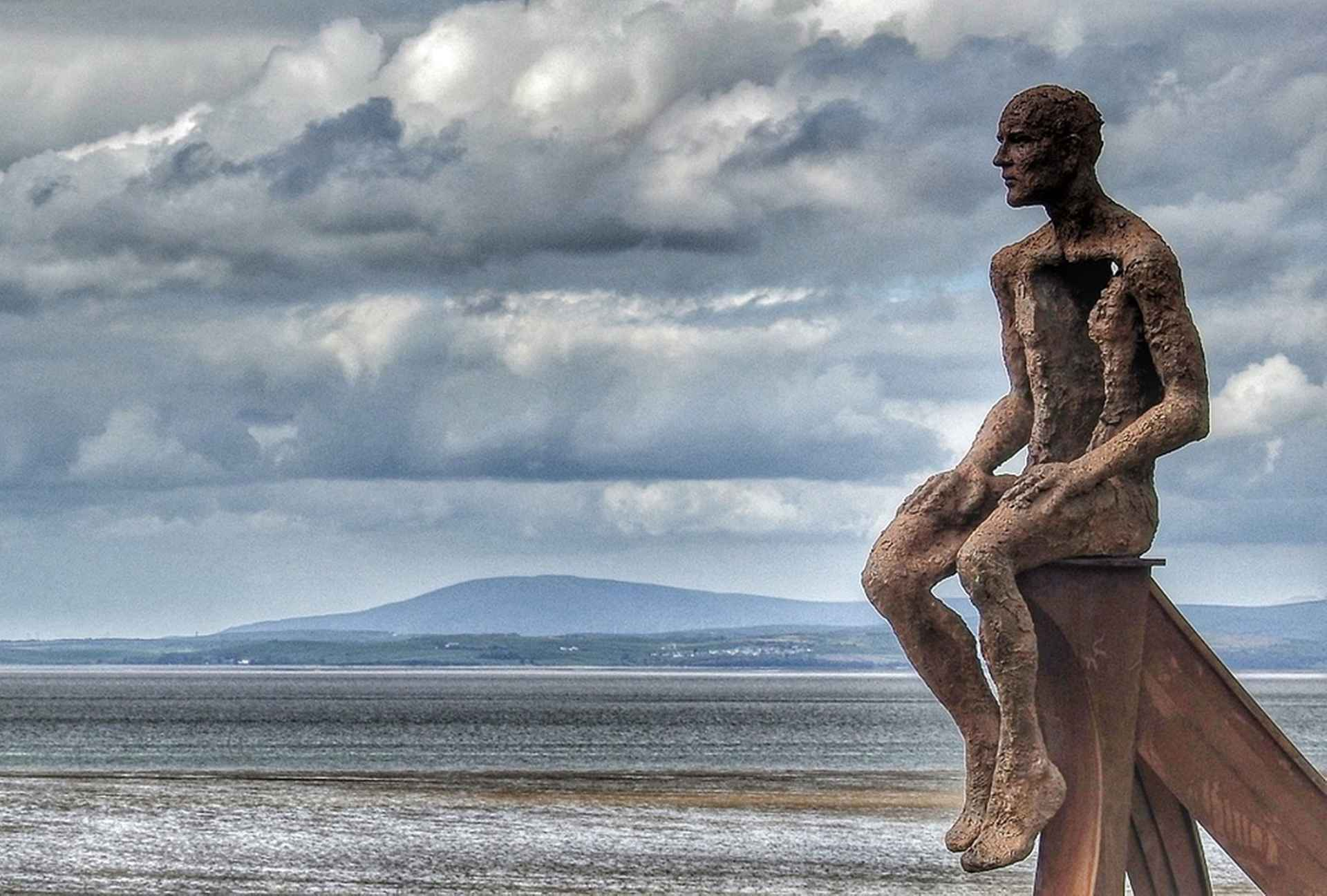 SHIP - Public commission at Half Moon Bay, Morecambe by Anna Gillespie
