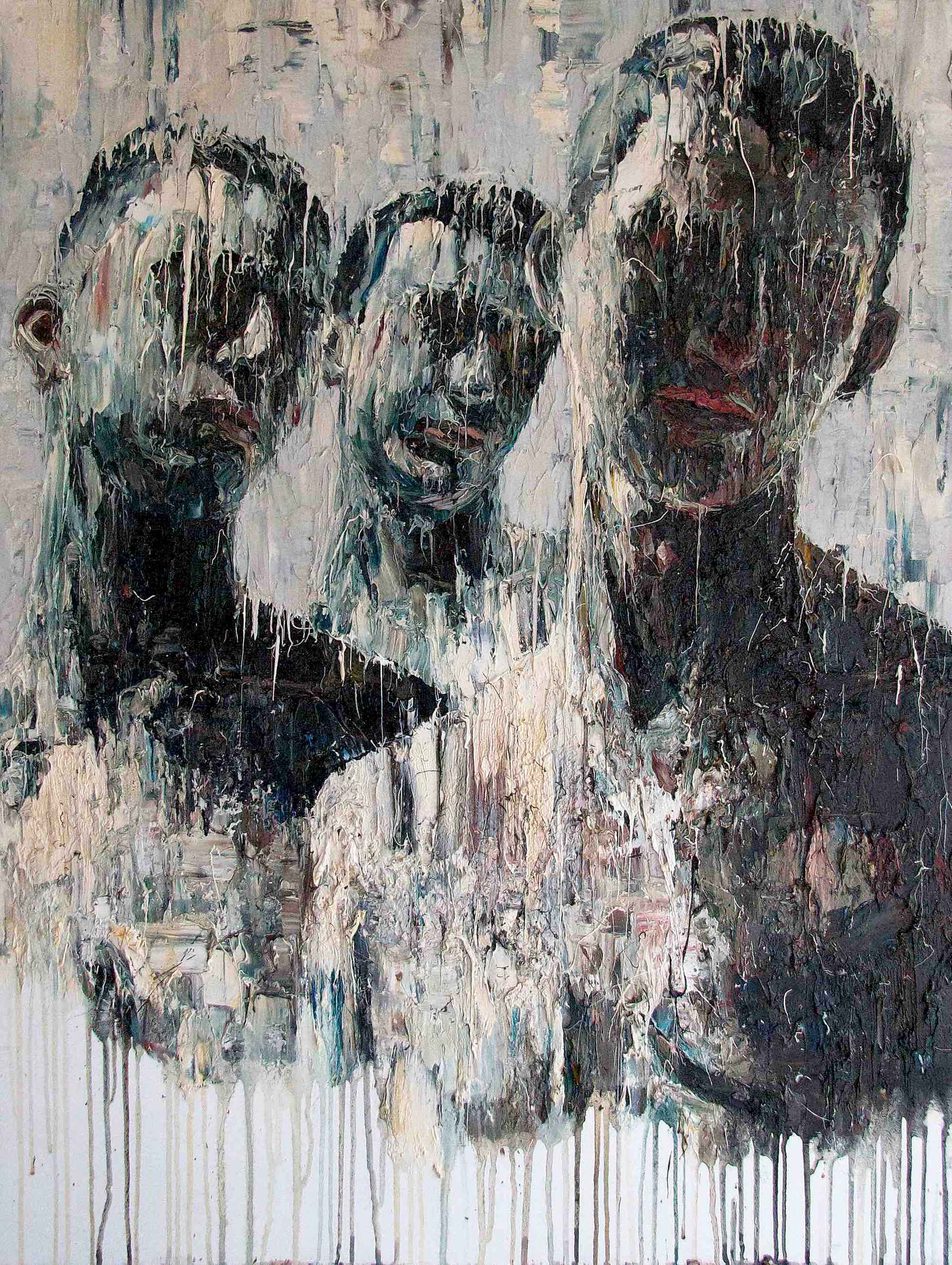 Bali Trio by Carl Melegari