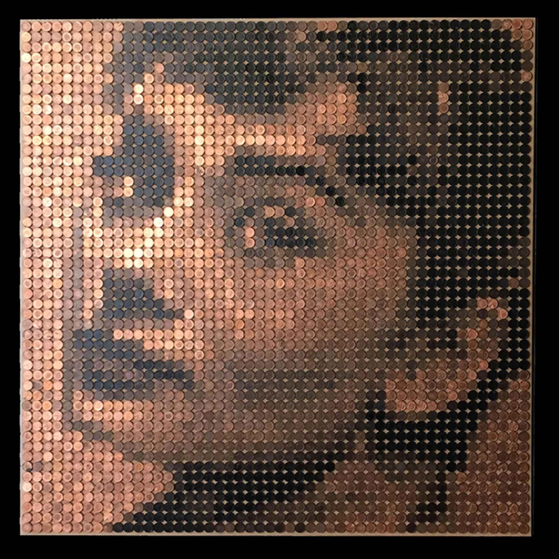 Audrey Hepburn by Ed Chapman