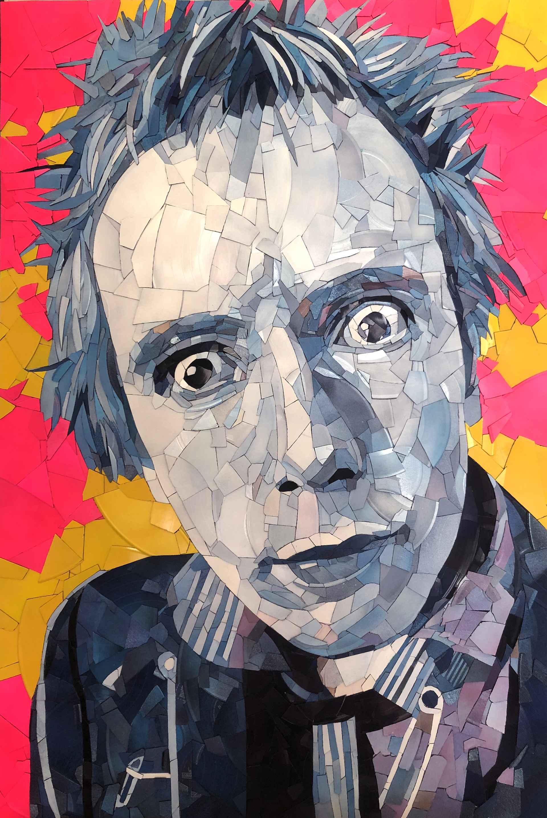 Johnny Rotten (vinyl) by Ed Chapman
