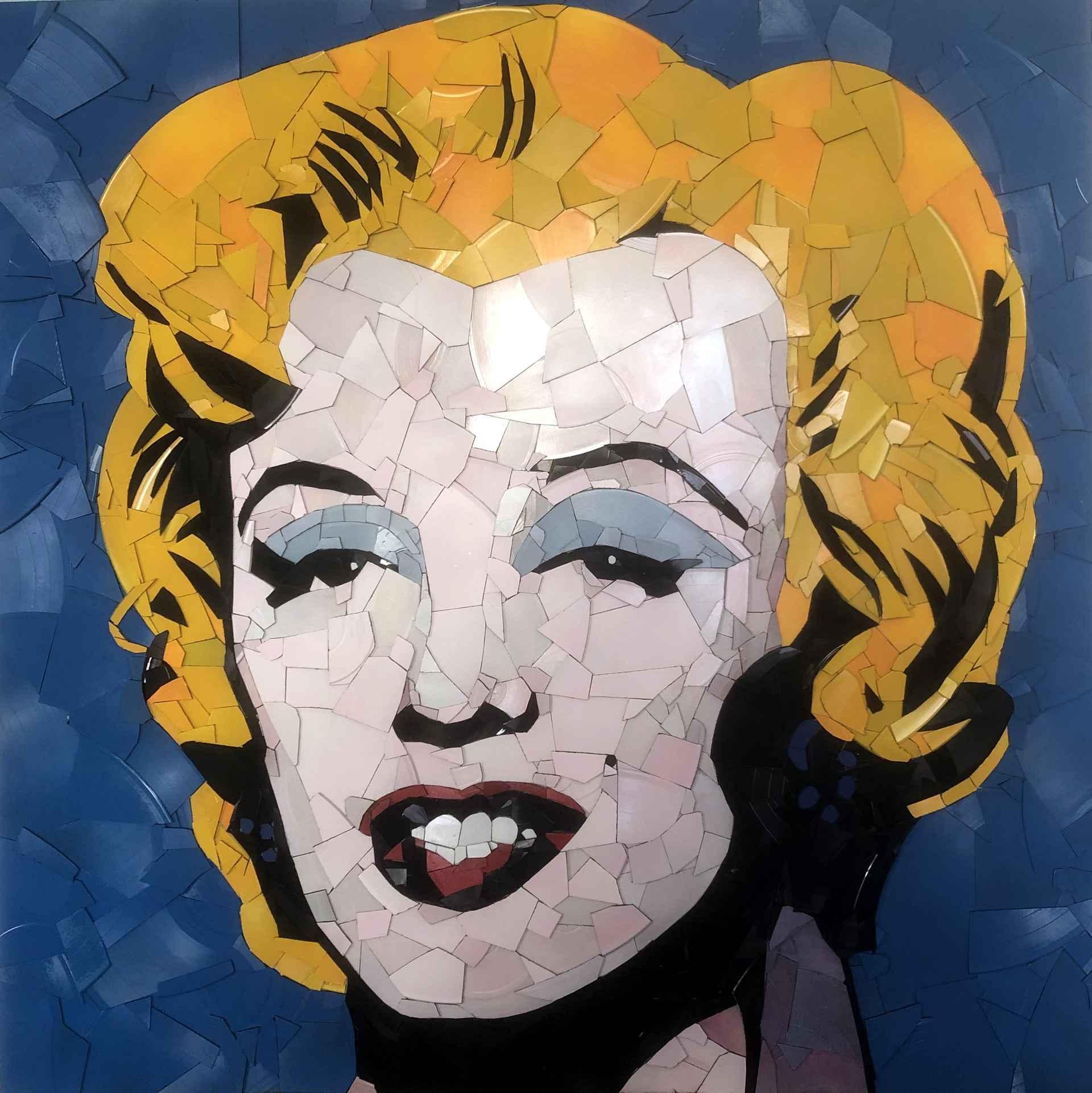 Marilyn vs Warhol by Ed Chapman