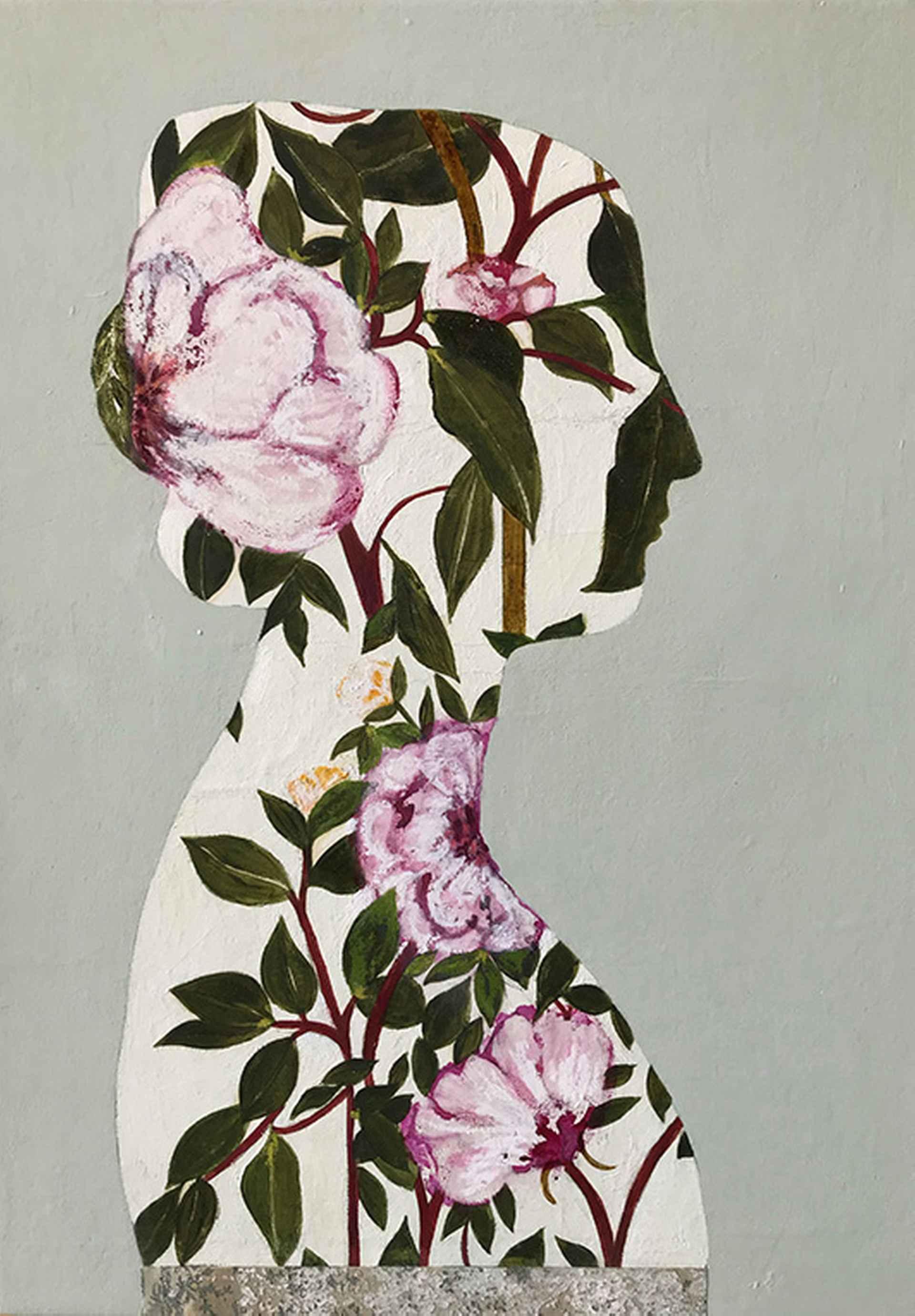 English Garden I by Karenina Fabrizzi