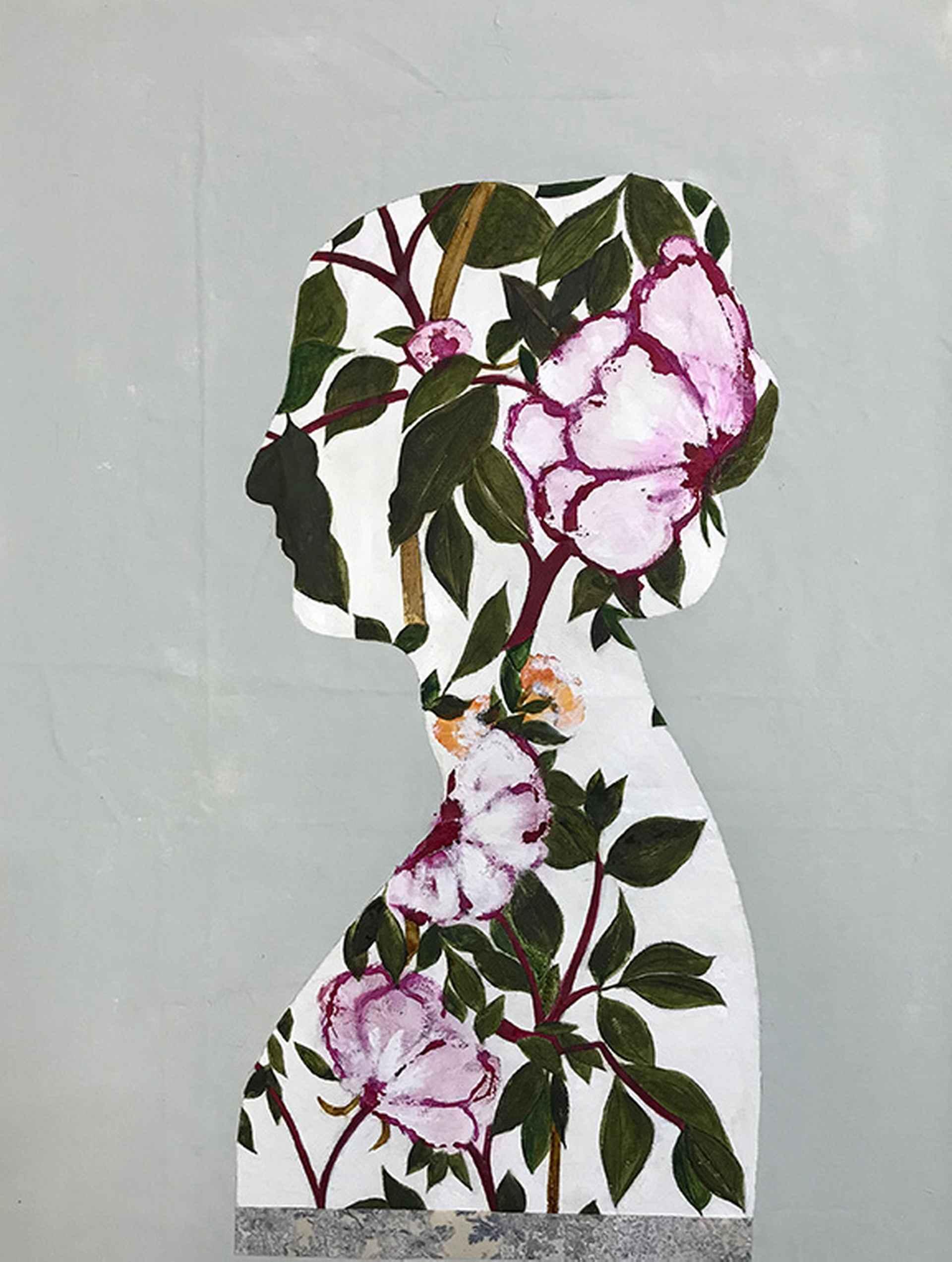 English Garden II by Karenina Fabrizzi