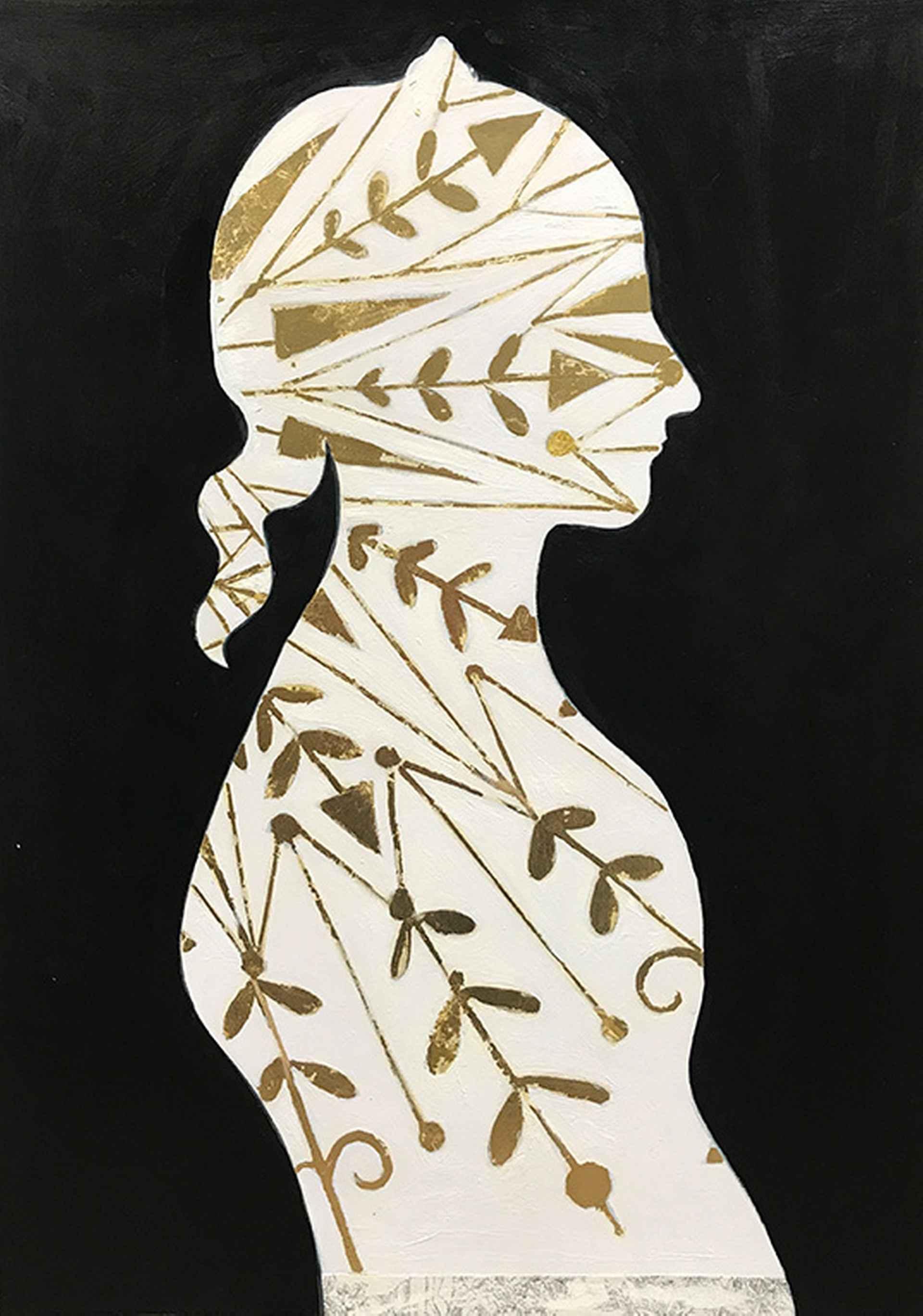 Golden Arrow #2 by Karenina Fabrizzi