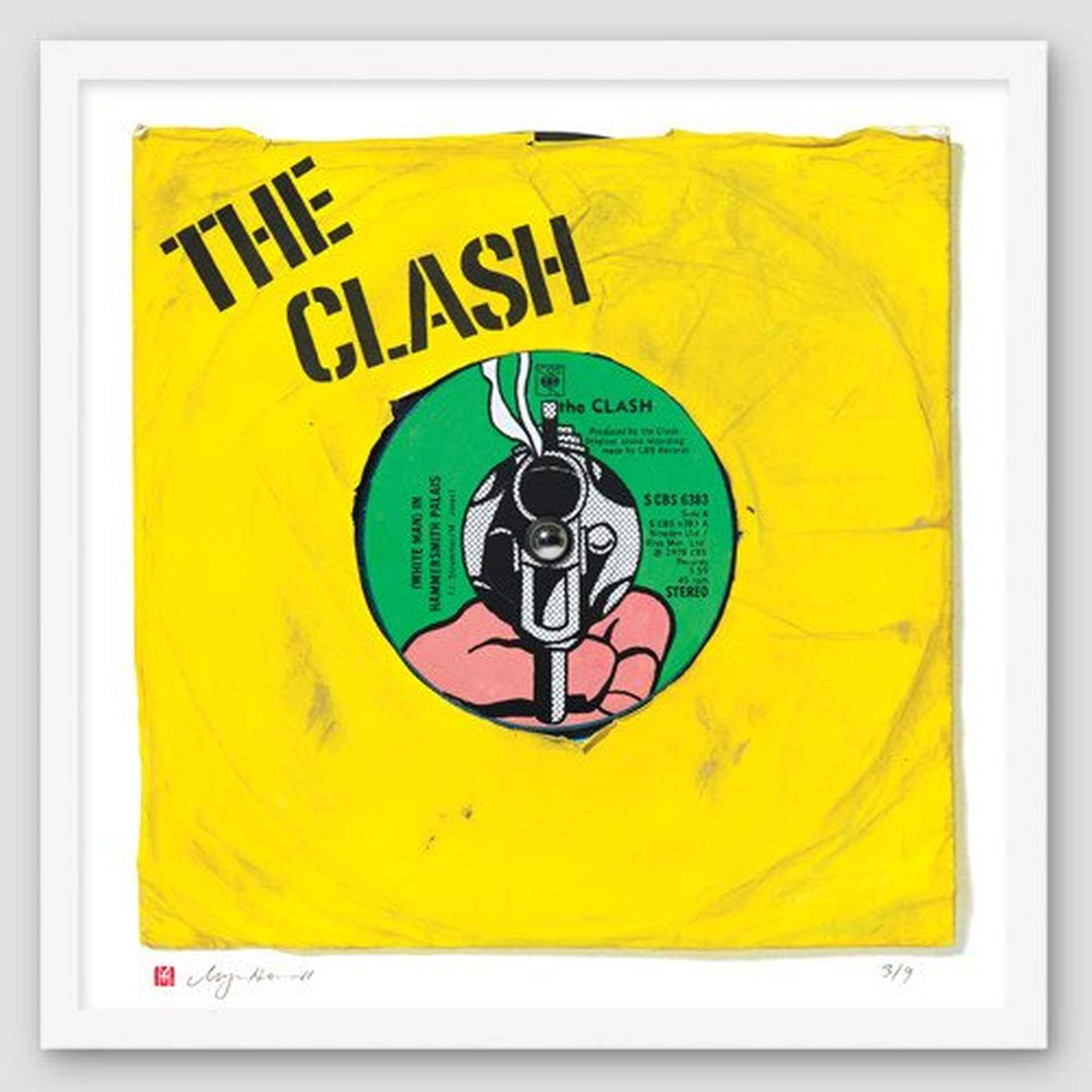 The Clash White Man at Hammersmith Palais by Morgan Howell