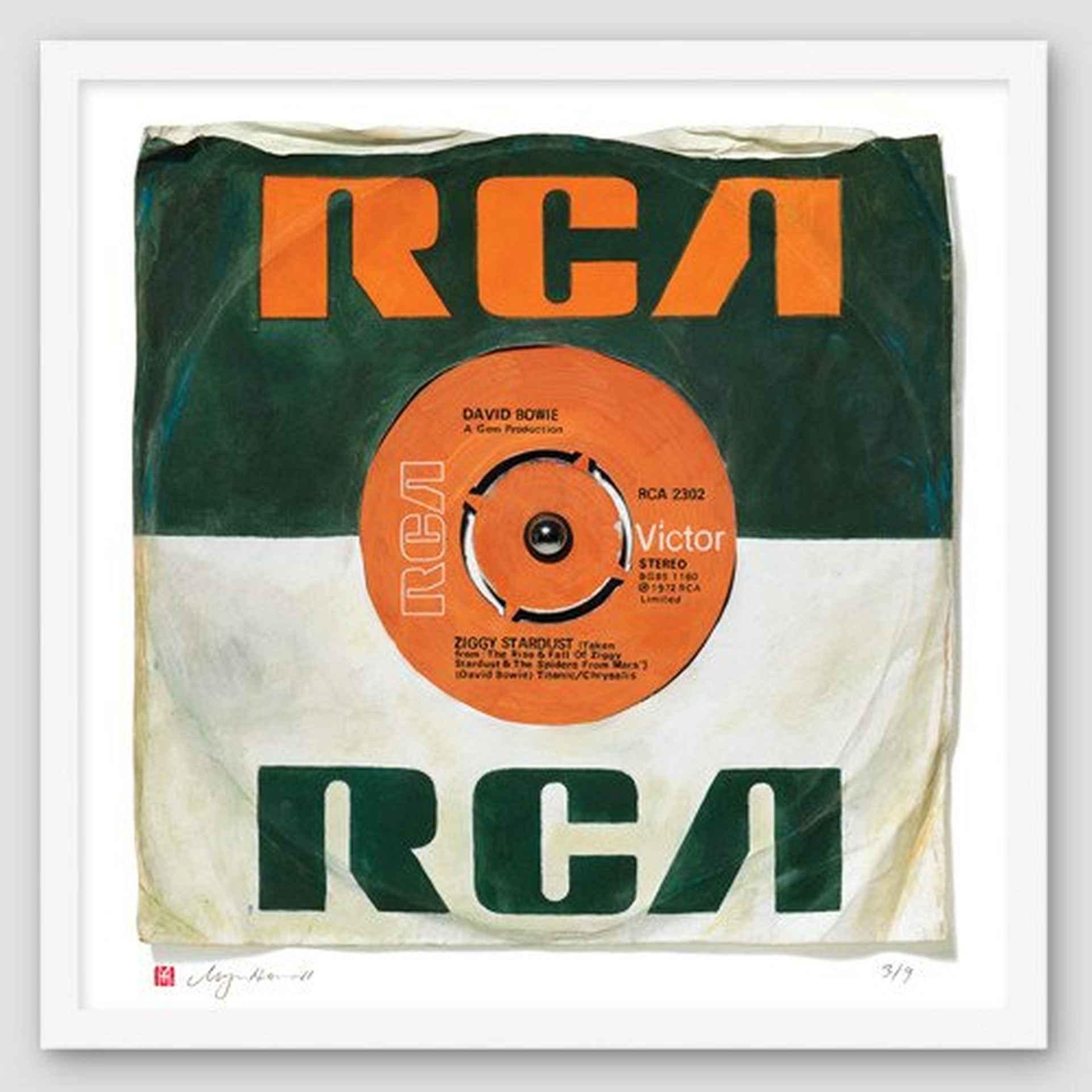 """Ziggy Stardust"" by David Bowie by Morgan Howell"