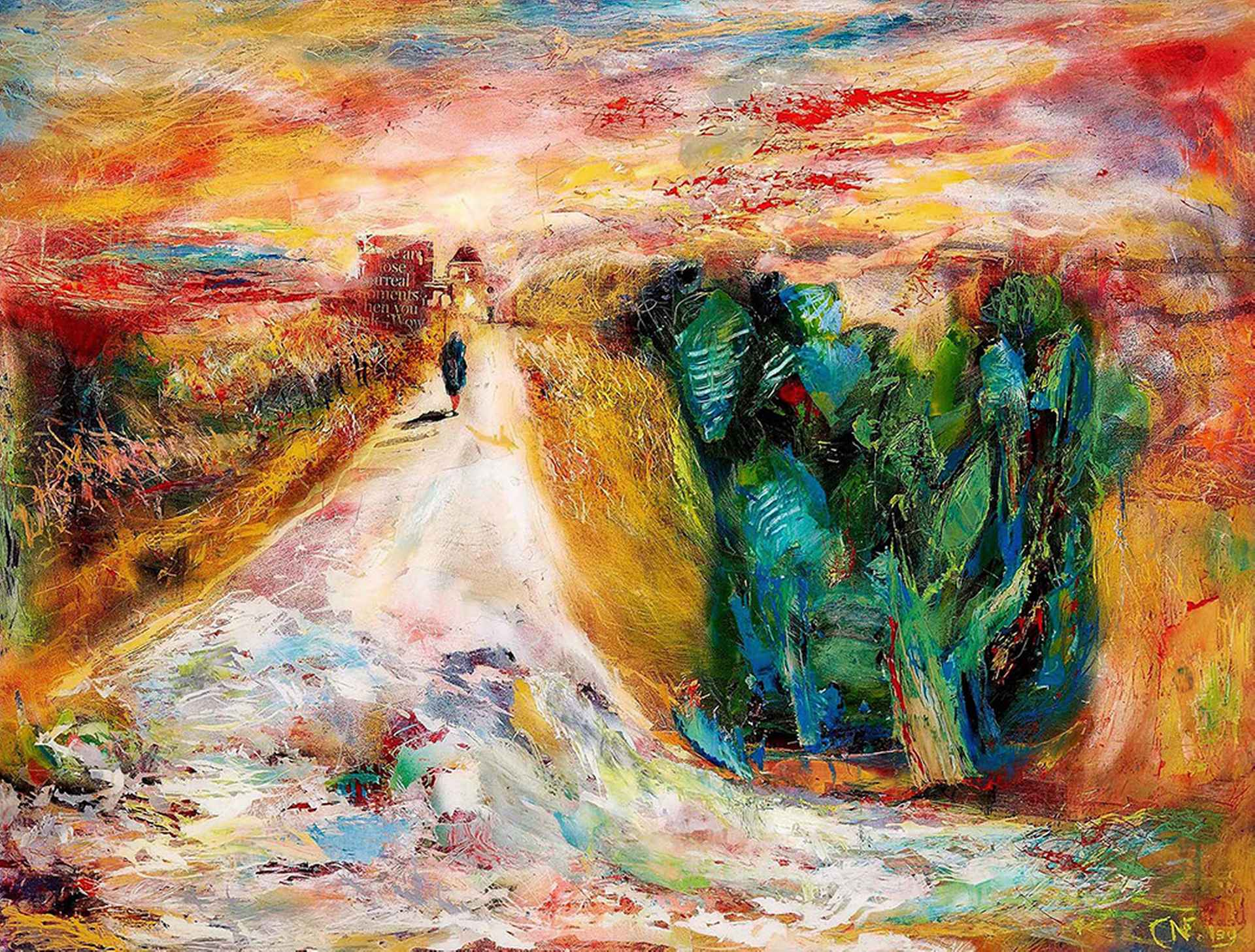 Path to a Chapel by Nick Coley