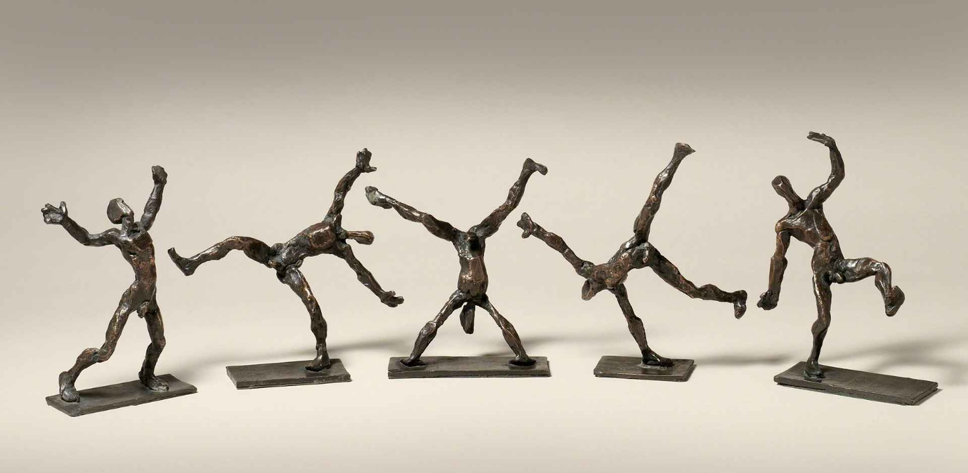 Cartwheel (set of 5) by Sophie Dickens