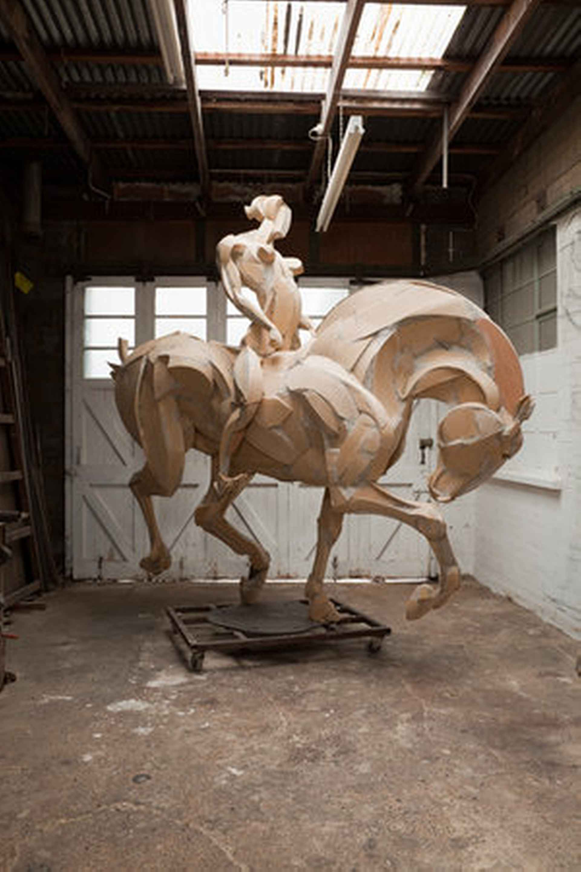 Horse & Rider by Sophie Dickens
