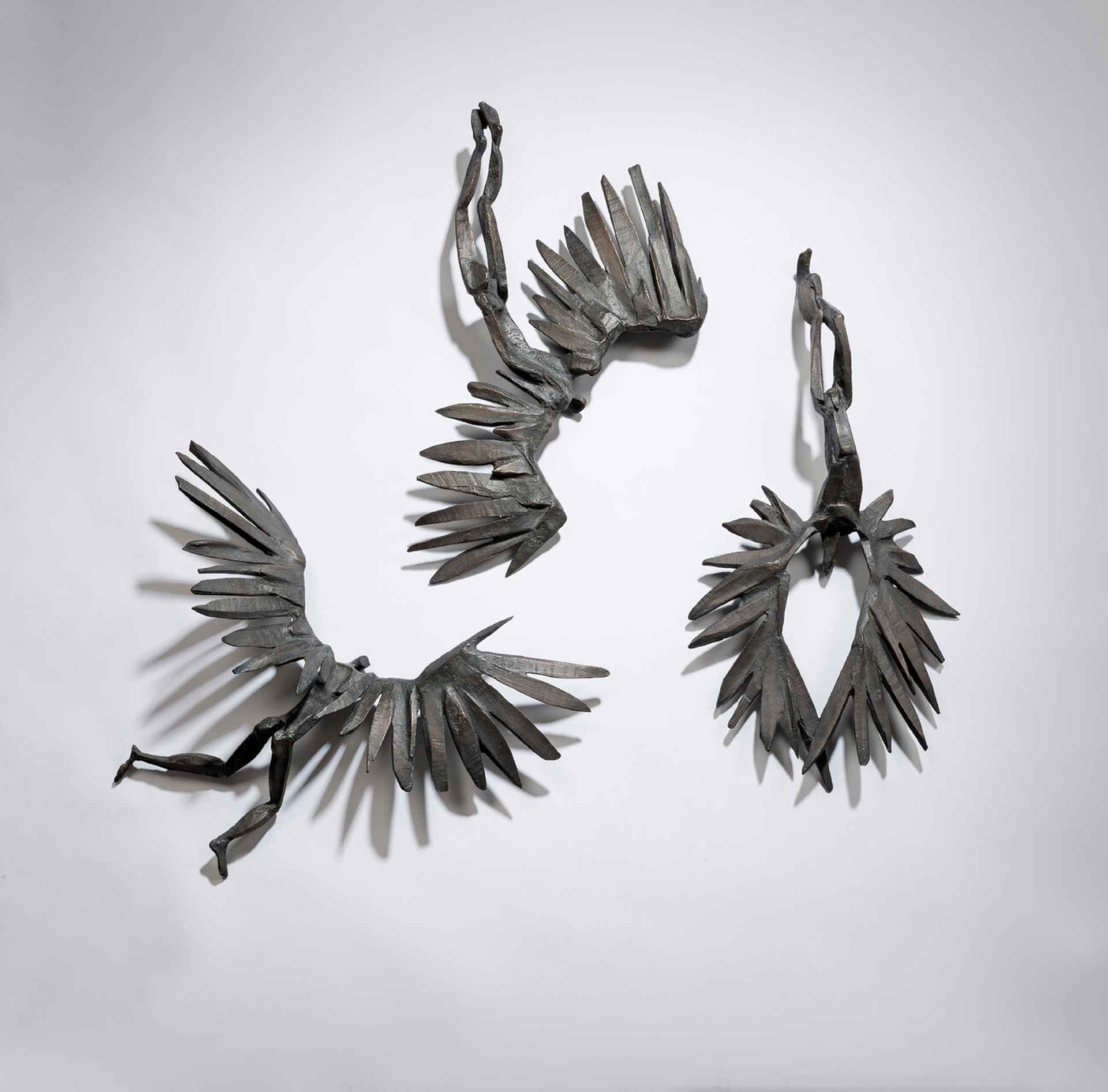 Icarus (wall mounted set) by Sophie Dickens