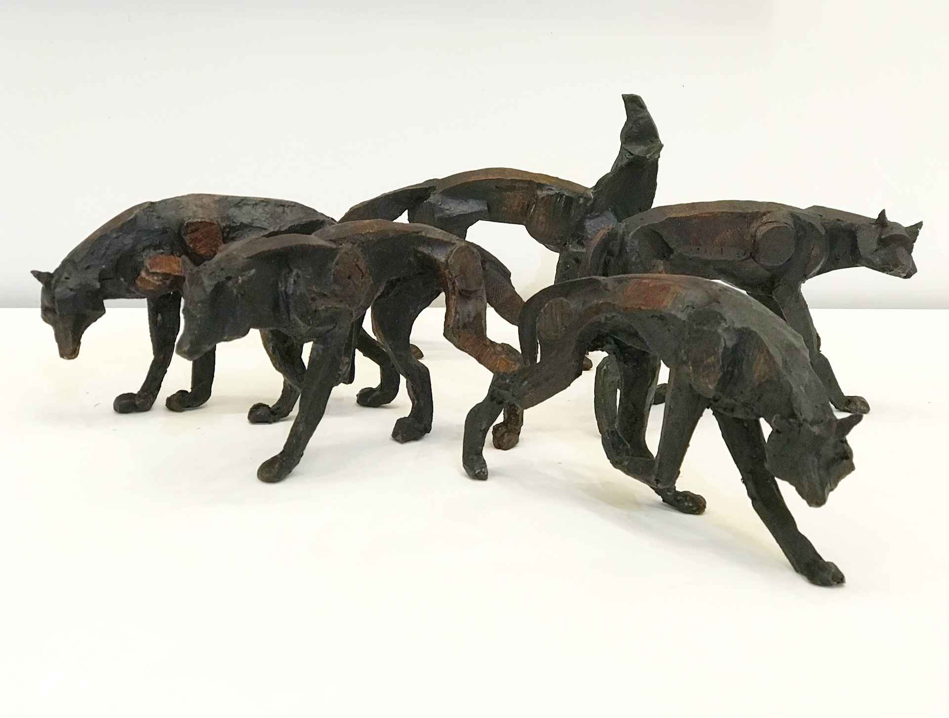 Wolf Pack (maquette) by Sophie Dickens