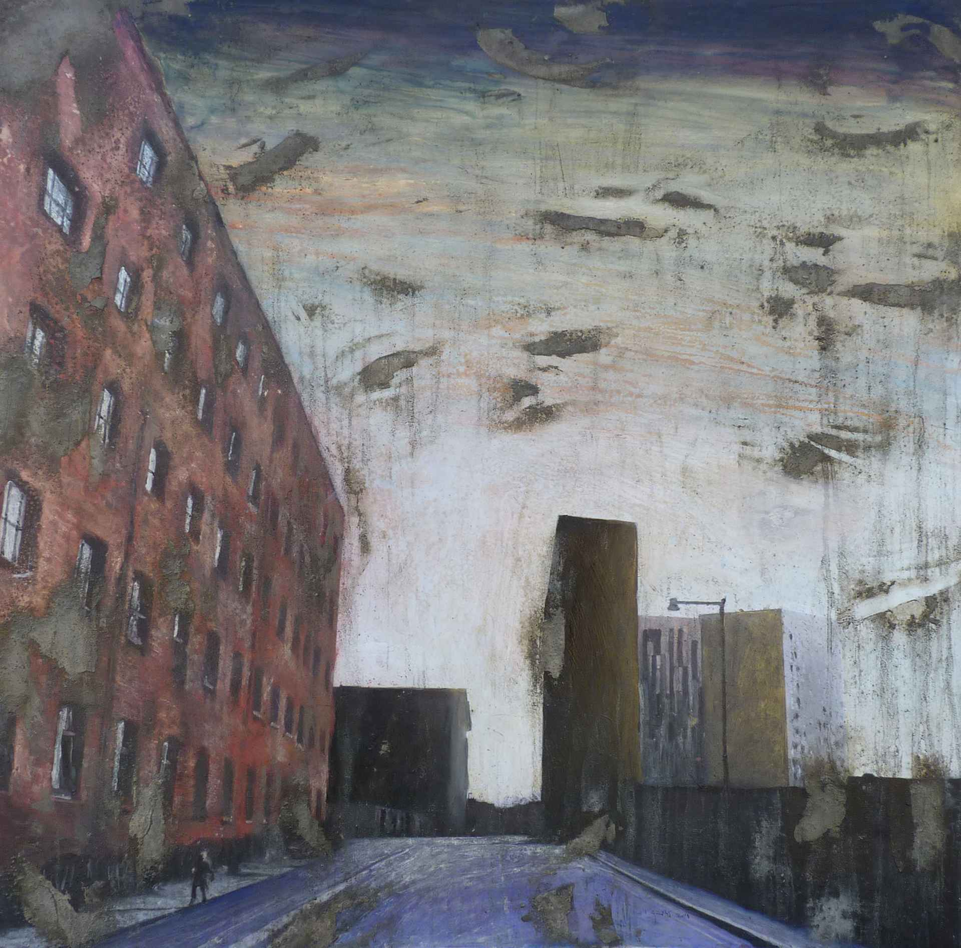 Coming Up to Hulme Street by Tim Garner