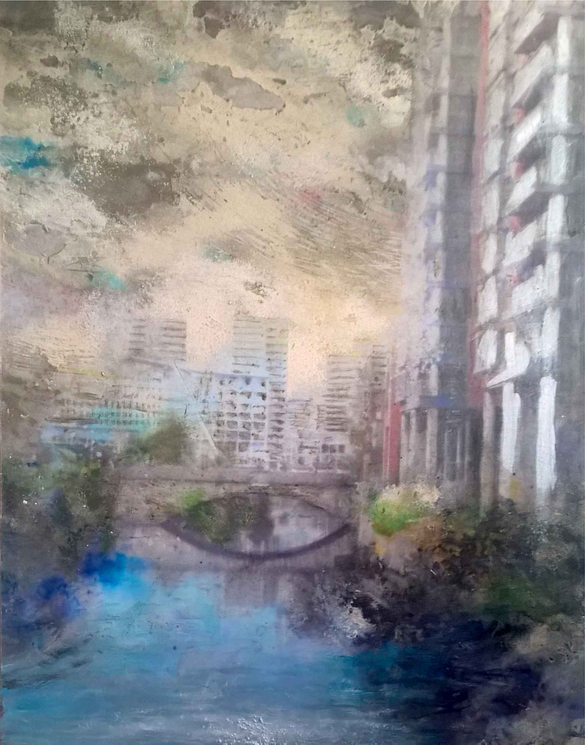 Irwell River by Tim Garner in Manctopia