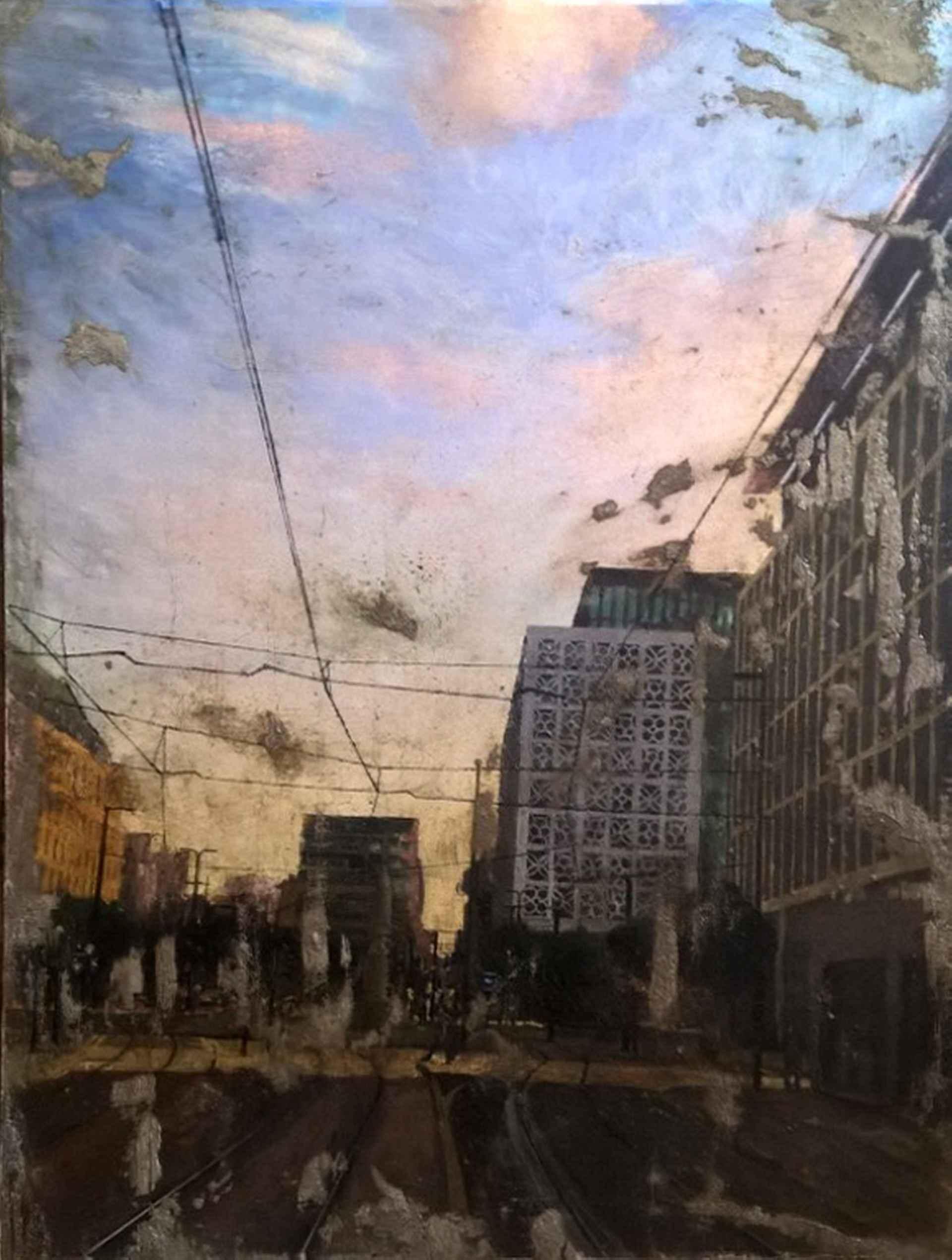 St Peter's Square Evening Light by Tim Garner