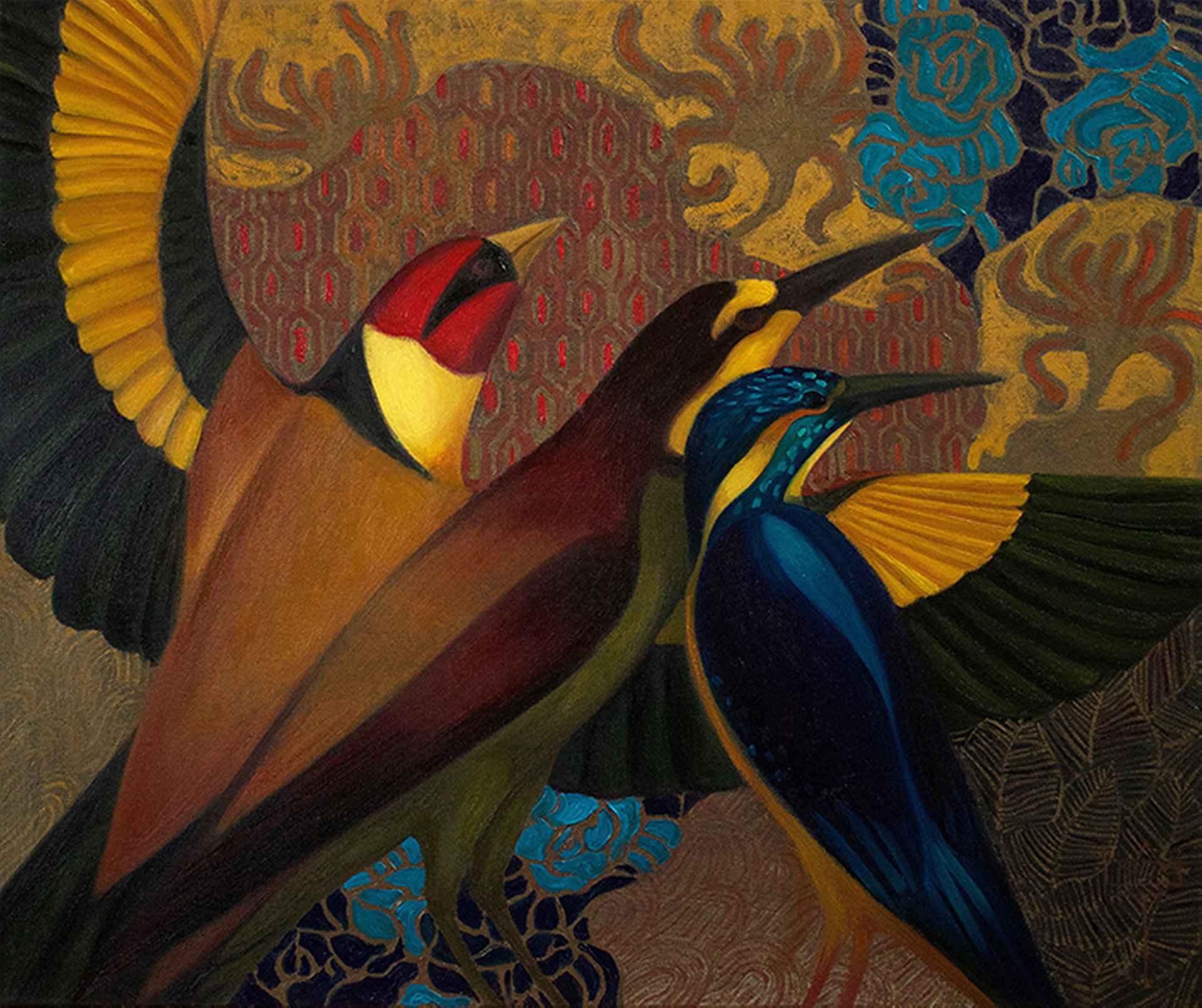 Birds I by Timur D'Vatz