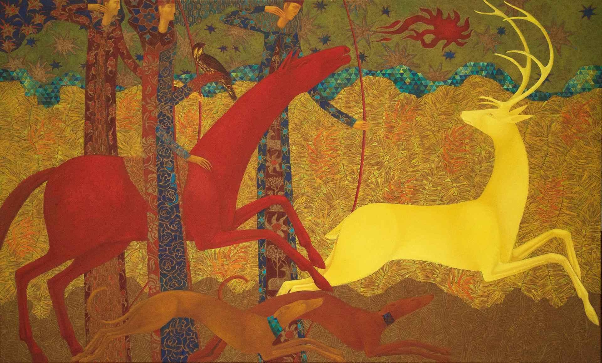 Golden Dear Chase by Timur D'Vatz