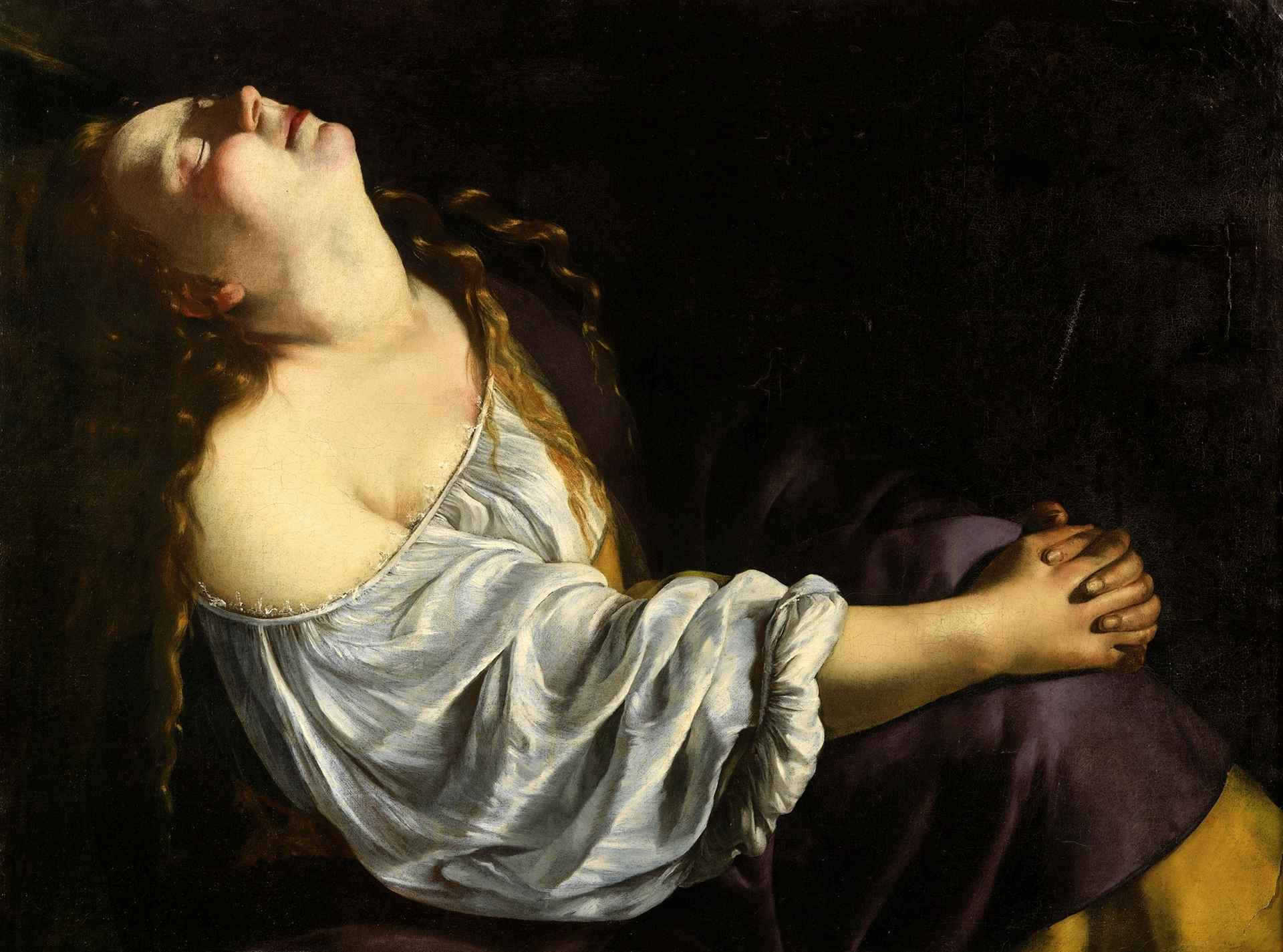 British singer and songwriter FKA twigs talking about the sensuous portrait of Mary Magdalene by Artemisia Gentileschi