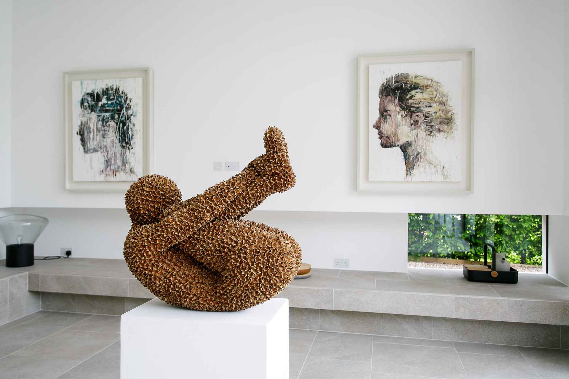 Sculpture and painting in harmony by Cheshire Home