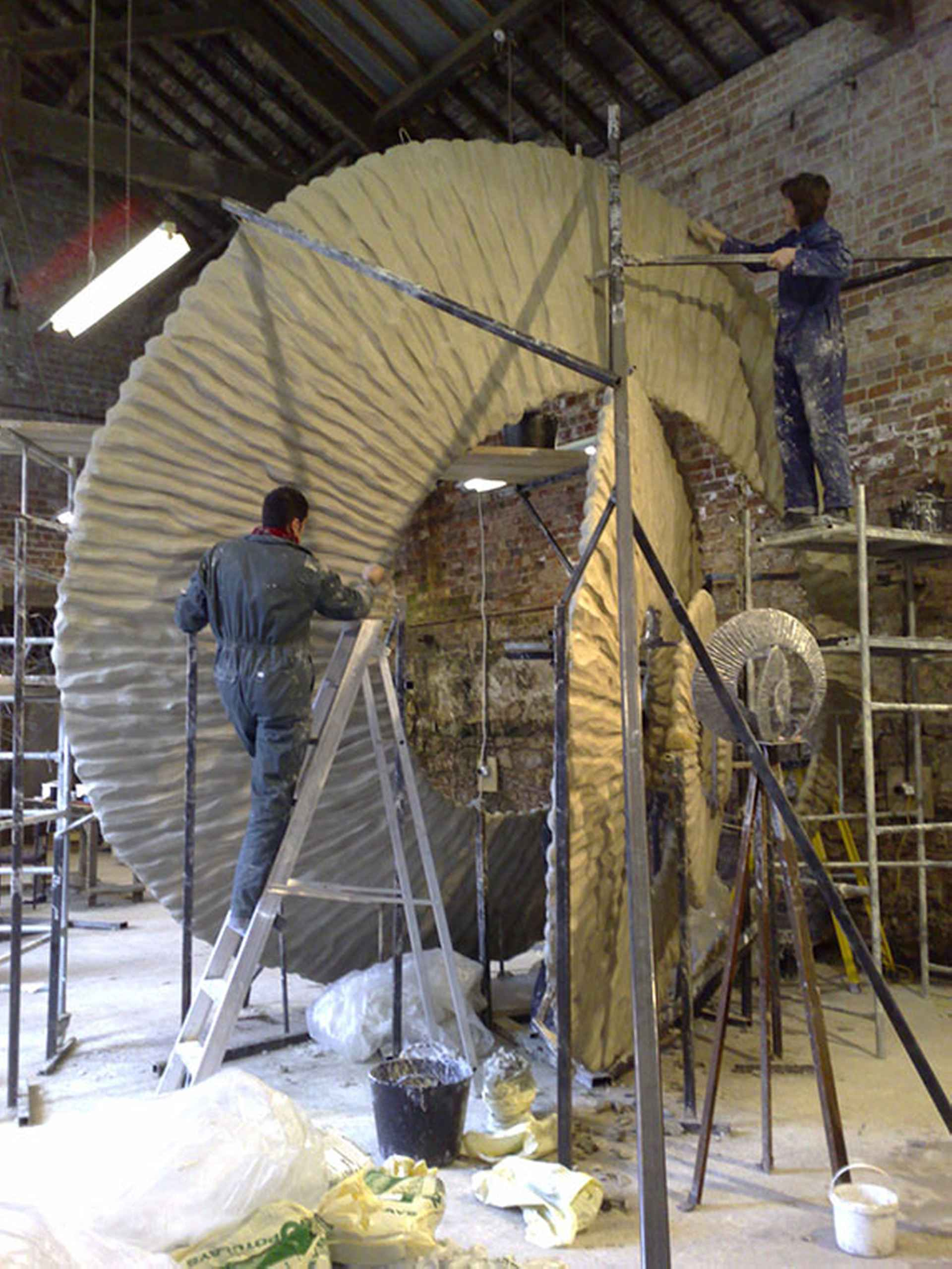 Stage 4 by Commissioning Public Sculpture