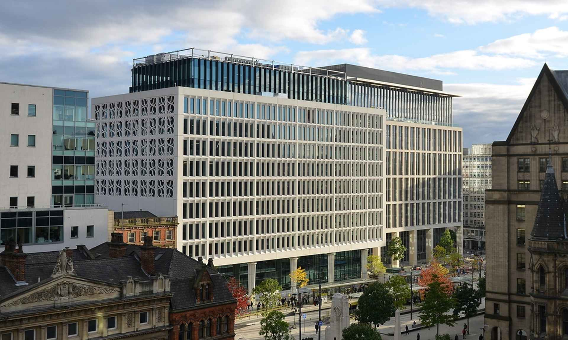 EY Office - Two St. Peter's Square, Manchester by EY (Ernst & Young)