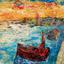 Fisherman at Marsaxlokk by Nick Coley