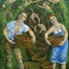 Family Gathering, Past-Present by Richard Wallace