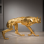 Gilded Wolf by Sophie Dickens