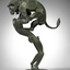 Hercules & Lion (maquette) by Sophie Dickens