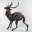 Stag by Sophie Dickens