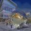 Lighting installation proposal 1 by Dostyk Plaza, Kazakhstan